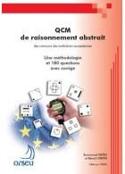 Livre QCM de raisonnement abstrait - Edition 2010